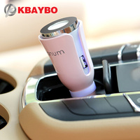 Car Aroma Diffuser Car Aromatherapy Mat Diffuser With Dual Power USB Car Charger 5 Color Selection