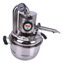 10L Brennerei Bar Haushalt ausrüstung wein limbeck destilliertem wasser baijiu große kapazität wodka maker brauen alkohol whisky
