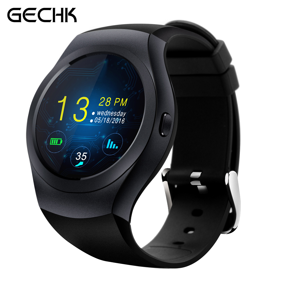 ФОТО Newest KS2 Bluetooth Smart Watch MTK2502C Full Round Touch Screen Support SIM TF Card Smartwatch Wearable Device for IOS Android