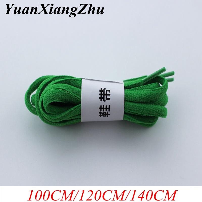 19 Colors 1Pair Shoelace Athletic Sport Sneakers Flat Shoelaces Bootlaces Shoe laces Strings For Multi Color 100CM/120CM/140CM
