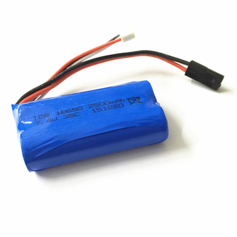 Spare battery MJX F49 F39 T23 T40C RC drone Quadcopter Parts Lipo Battery extra Toys 7.4v 35c 2500mAh - Ali Authorized Store store