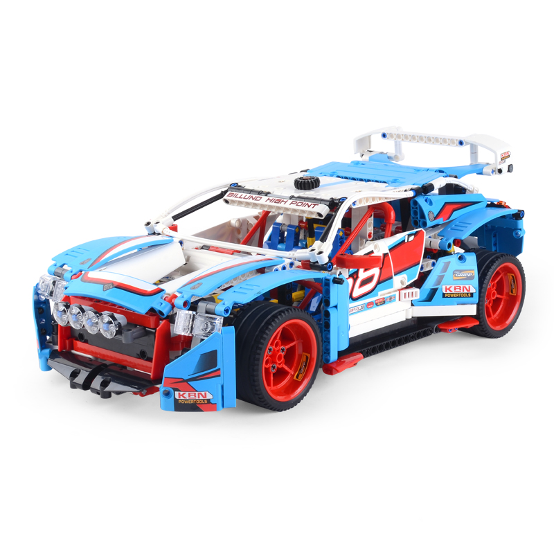 Lepin 20077 1085PCS Technic Series The Rally Car Sets Compatible With 42077 Model Building Blocks Bricks Kits Children Toys lepin technic series lepin 21004 ferrarie f40 sports car model building blocks kits bricks toys compatible with 10248