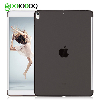 Case for iPad Pro 10.5 / iPad 2018 Silicone Soft Back Case Match with Smart Keyboard Cover Slim Fit Back Shell for iPad 2018 9.7