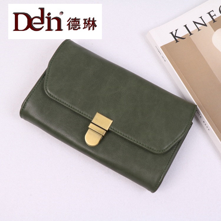 DELIN Manufacturers selling 2017 new female bag or lend much interlayer women's single shoulder bag large capacity contracted
