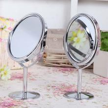 Портативное настольное зеркало для макияжа двухстороннее Парикмахерское зеркало настольное зеркало для макияжа стекло косметическое зеркало