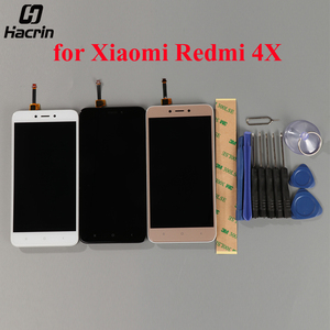 Image 2 - עבור Xiaomi Redmi 4X LCD תצוגה עם מסך מגע + מסגרת Digitizer עצרת החלפת מסך עבור Xiaomi Redmi 4X פרו