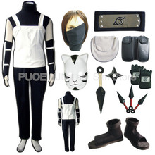 Free Shipping  Anime Naruto Hatake Kakashi Cosplay Costume Uniform Full set ,1.2KG,11/lot
