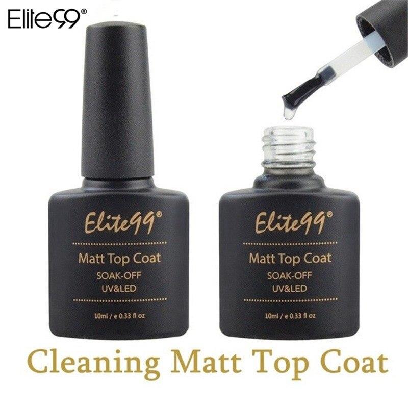 Elite99 10 мл матовая матовый лаки для ногтей Гель-лак для ногтей, лак для ногтей лаки для ногтей гель-лаки для ногтей, длительного действия, UV Led м...