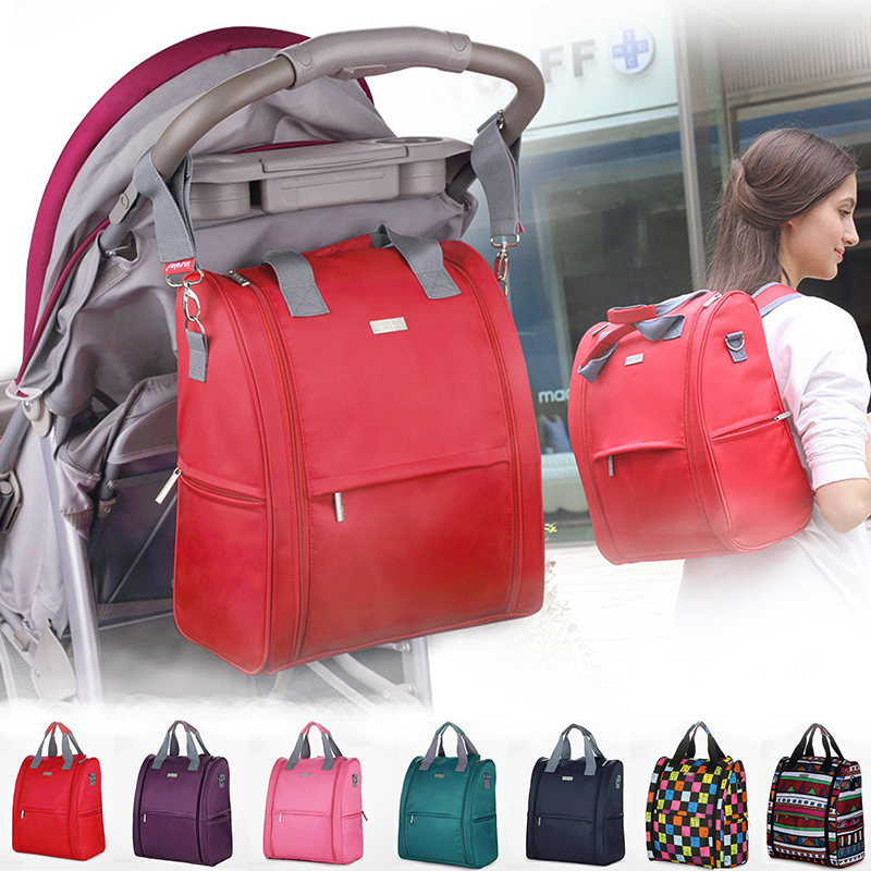 Baby Mummy Diaper Nappy Changing Bag Travel Backpack Mommy Designer Changing Nappy Bag Baby Stroller Bag High Capacity Backpack fashion cute panda baby mummy diaper nappy bags keep fresh lunch breast milk bag thermal portable travel picnic hobos baby care