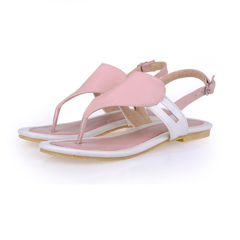 1d665f969339 Size 32 47 Shoes Woman Famous Brand Flip Flops Ladies Clip Toe Gladiator  Sandals Women Branded Slippers Sandalias Shoes PA00360-in Low Heels from  Shoes on ...