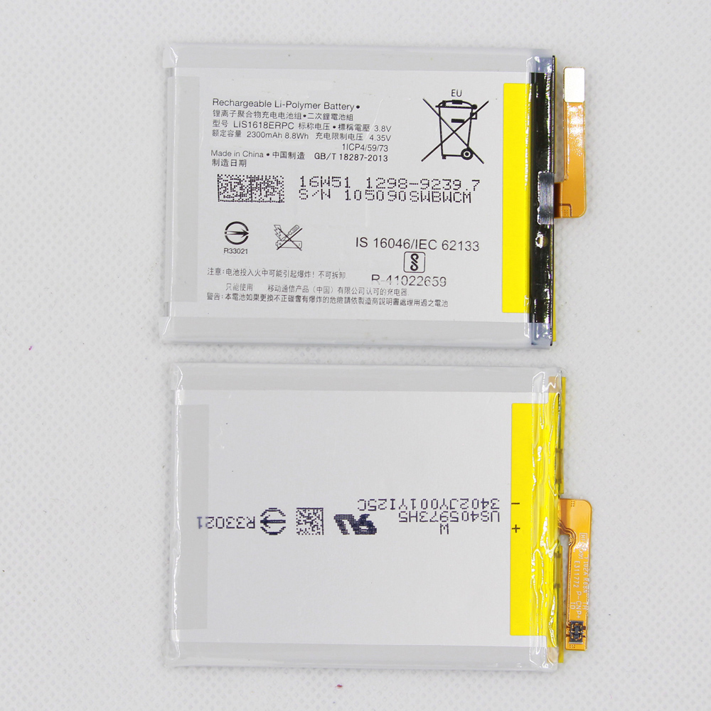 5pcs/lot Authentic Replacement <font><b>Battery</b></font> LIS1618ERPC For SONY <font><b>Xperia</b></font> E5 <font><b>XA</b></font> F3113 2300mAh Phone <font><b>Battery</b></font> image
