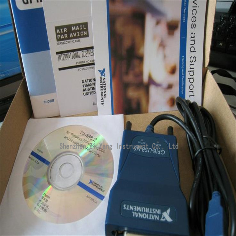 original product 778927-01 NI GPIB-USB-HS, GPIB card new original data acquisition card