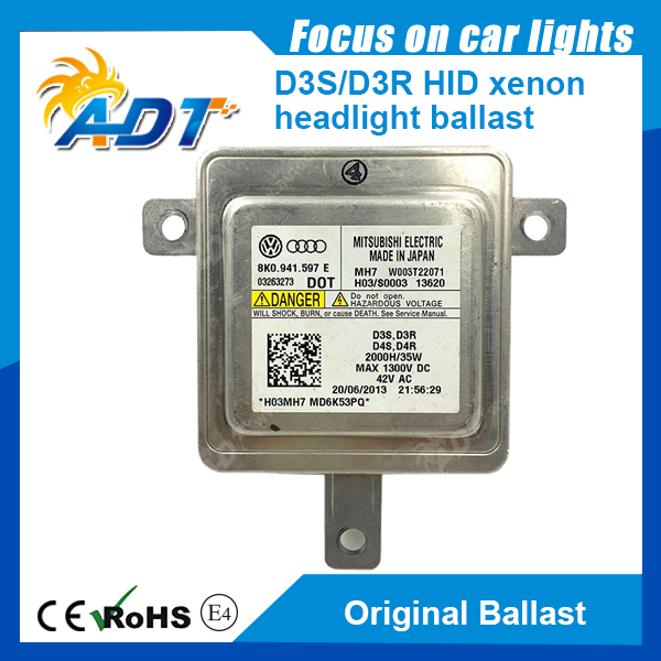 8K0941597E/ W003T18471 HID D3S Xenon OEM Ballast 09-10 For Audi A4 new hid xenon d2s oem 33119 ta0 003 ballast for mitsubishi w3t19371 for rdx tl tsx 2006 2011