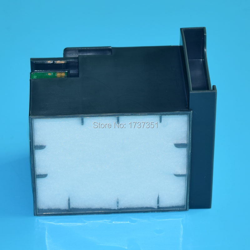 waste ink collector T6712 maintenance tank with chip for Epson WP-8010 8090 8510 8590 printer waste ink tank chip resetter for epson 9700 7700 7710 9710 printers maintenance tank chip reset