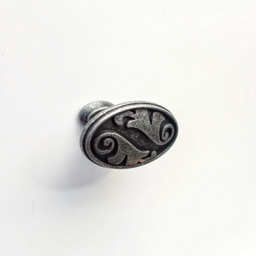 Beste Kopen Iron Grey Vintage Kast Knop Lade Deur Antieke