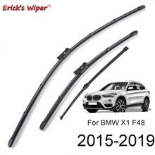 """Erick erkek silecek LHD ön ve arka cam silecek lastikleri seti BMW X1 F48 2015   2020 2019 2018 2017 2016 ön cam ön cam 26 """"16"""" 14"""""""