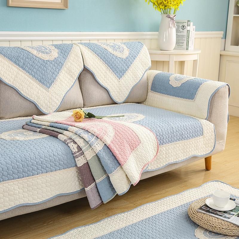 1 Piece Sofa Covers Cotton Non Slip Couch Cover Sofa Towel