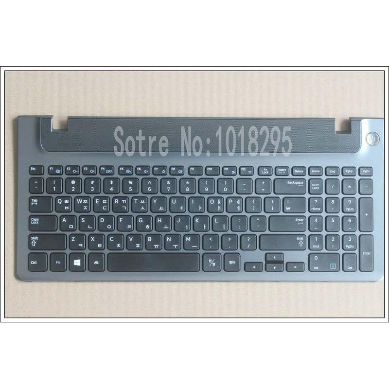 New Korean laptop keyboard with frame for Samsung 355V5C 350V5C 355 V5X KR keyboard layout