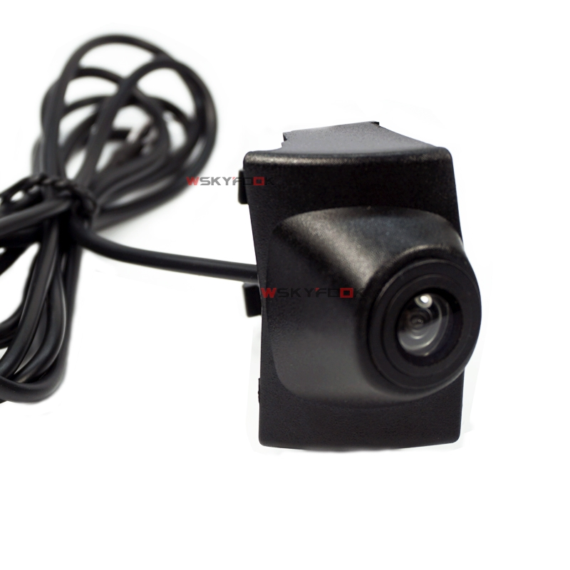 Waterproof Night Vision 520L CCD Car Front View Camera For Geely 2016 Logo Branded Parking Camera
