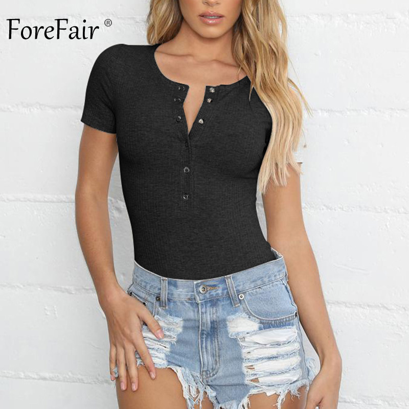 Forefair Bodysuit Sexy Bodycon (15)