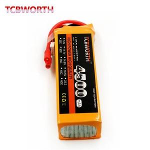 Image 2 - Nuovo Originale Reachargeable Batteria di LiPo di RC 4 4S 14.8V 4500mAh 30C 60C Per RC Elicottero AKKU Drone Camion batterie LiPo 4S