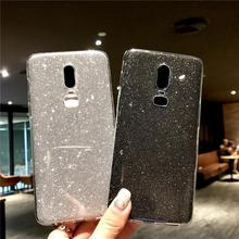 For OnePlus 6T 7 5T Cover Glitter Case Silicone TPU Soft Cover For Meizu M3 M5 M6 M8 Note X8 M9C M6T M6S M5S M3S Pro 6 U10 U20