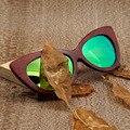 Bobo jacarandá pássaro top de design da marca dos homens polarizados óculos de sol de praia de luxo handmade 2017 new óculos de sol oculos de sol masculino