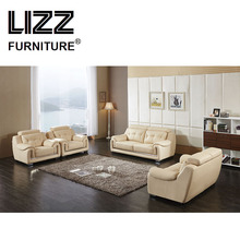 Furniture Casa Wooden Sofa Set Couch Leisure Sofa Love Seat Chair Genuine Leather Divani Mobler With Adjustable Headrest