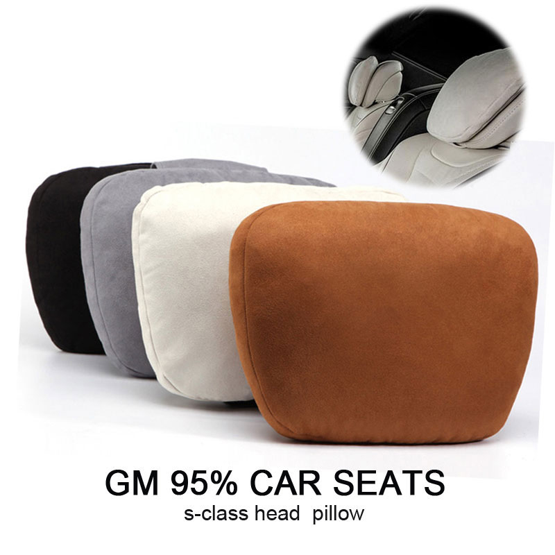1PCS Auto Car Neck Pillow Memory Pillows Neck Rest Seat Headrest Cushion Pad High Quality protect Neck Rest Support Cushion in Neck Pillow from Automobiles Motorcycles