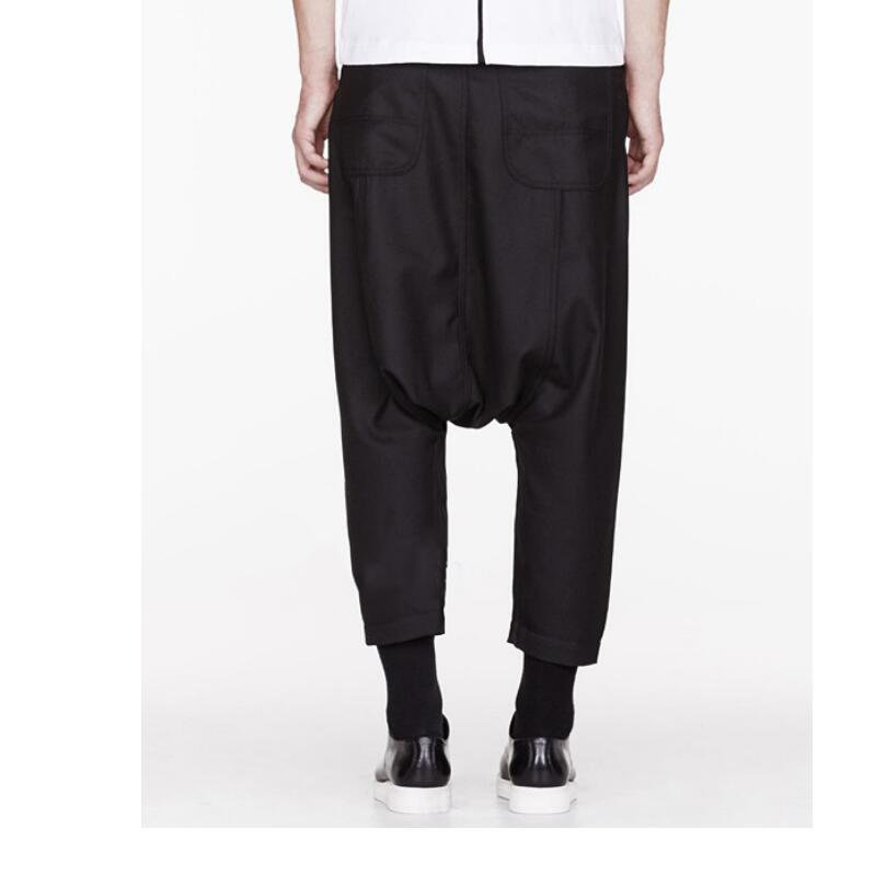 Low Crotch Pants Men Nine Pants Cross-pants Men And Women Fashion Personality Long Trousers New Fashion Plus Size Costumes 28-44
