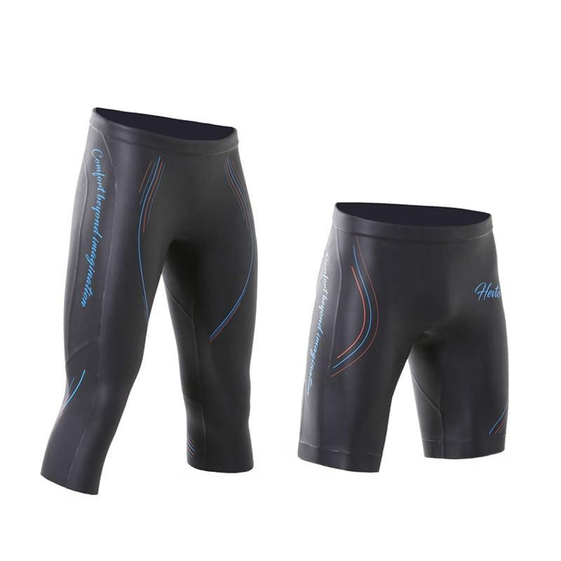 Men Women 3mm Triathlon high quality YAMAMOTO High Elastic Neoprene buoyancy shorts CR light smooth shin Diving pants shorts