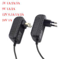 AC to DC Power Adapter Supply Charger adapter 5V 12V 9V 1A 2A 3A 0.5A US EU Plug 5.5mm x 2.5mm 100-240V For CCTV LED Strip Light