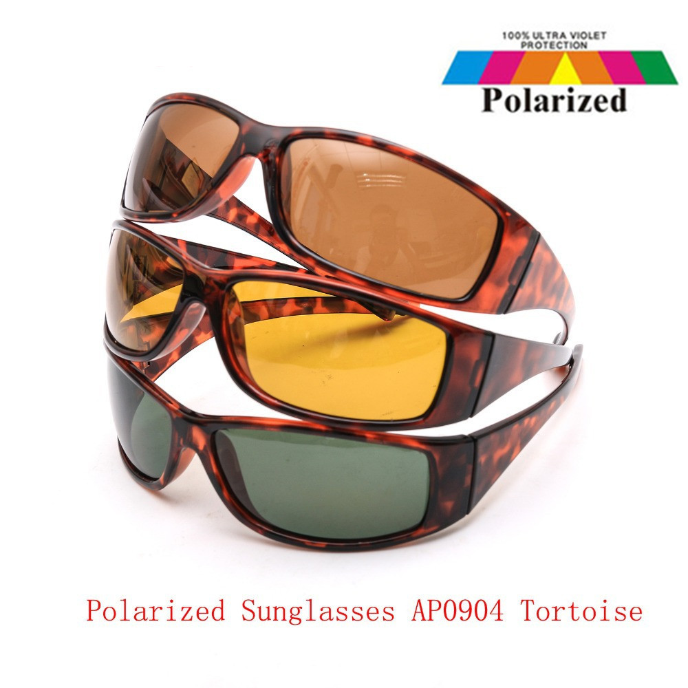 8131c6767e8b5 Maximumcatch High Quality Tortoise Frame Fly Fishing Polarized Lens Brown  Yellow And Gray UV400 Fishing Sunglasses-in Fishing Eyewear from Sports ...