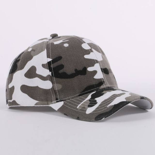 ca870a3dea8 Men And Women Camouflage Half Mesh Army Hat Baseball Cap Desert Jungle Snap Camo  Cap Hats Hot