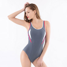 Sexy Striped Women swimsuit 2017 New Women's One-Piece Swimwear Backless Flexible Fabric Beachwear high elastic swimming suit