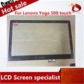 Original 15.6 '' táctil la pantalla para Lenovo Yoga 500 pantalla táctil digitalizador de reparación del reemplazo panel