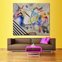 Surrealism Wassily Kandinsky Oil Painting Canvas Art Home Decor Wall Pictures For Living Room Modern No Frame Picture