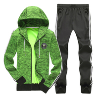 Mens Sportswear Sets Casual Tracksuit Men Sets Hoodies Two Pieces Suit Jogges Sets Fitness Clothing Women