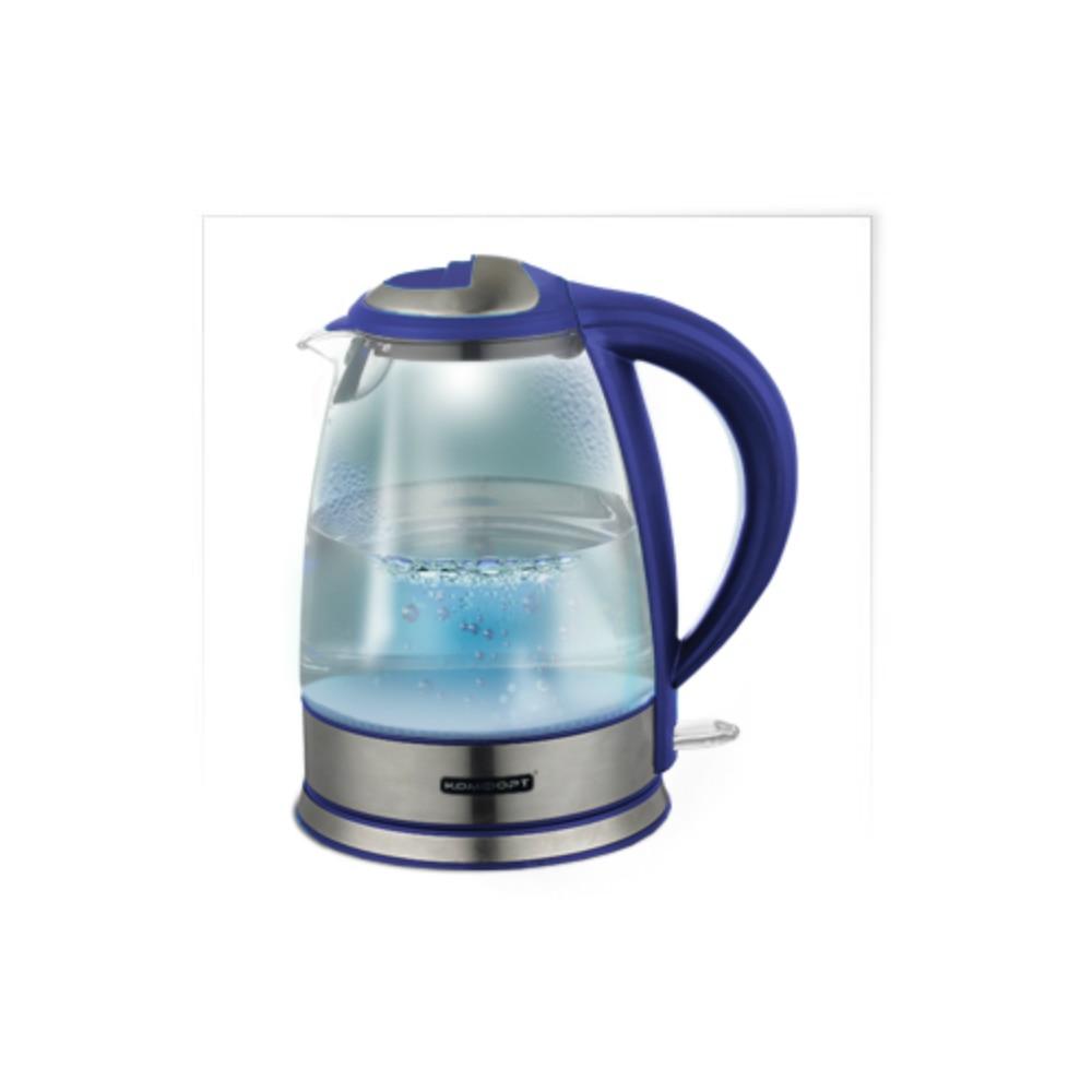 KETTLE COMFORT 619 purple glass matte 2000 ml family kitchen font b knife b font woman