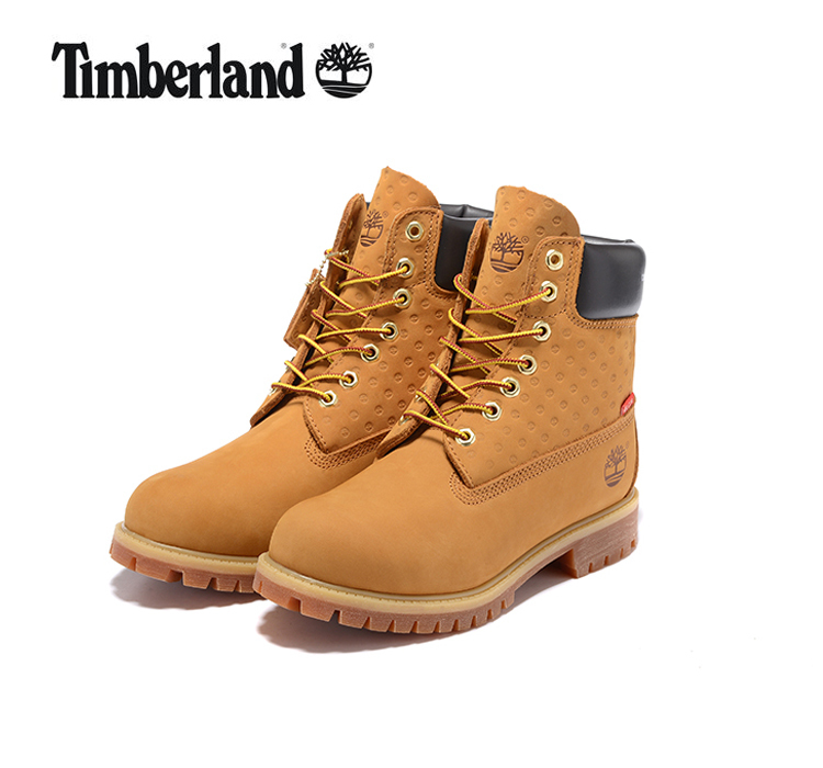 TIMBERLAND Super Original Women Premium 100% Waterproof Boots,Woman Genuine Cow Leather Ankle Anti-Slip Yellow Joint Shoes 36-39