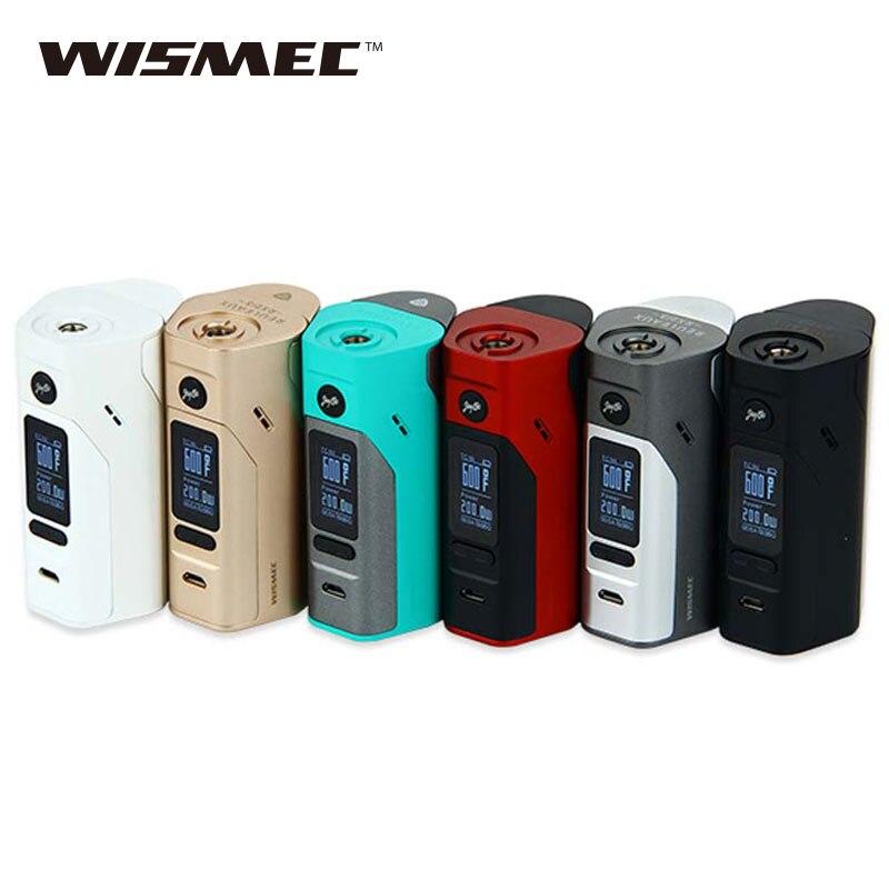 D'origine Wismec Reuleaux RX2/3 TC 150 w/200 w Boîte Mod Extensible Firmware Reuleaux RX2 3 TC RX23 Mod Vaporisateur e-cig VS RX200S/RX300