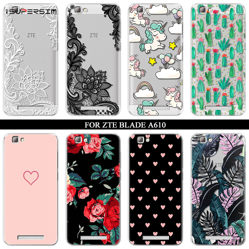 Case for ZTE Blade A610 Case 5.0 inch Silicone Ultra Thin So