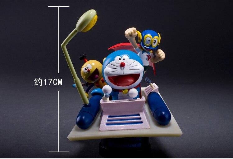 ФОТО 17cm Japanese anime figure Doraemon Time Machine action figure collectible model toys