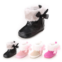 Brand New Infant Sapatos Soft Leather Prewalkers Winter Warmer Zapatos Bebe Shoes Baby Boots Girls First
