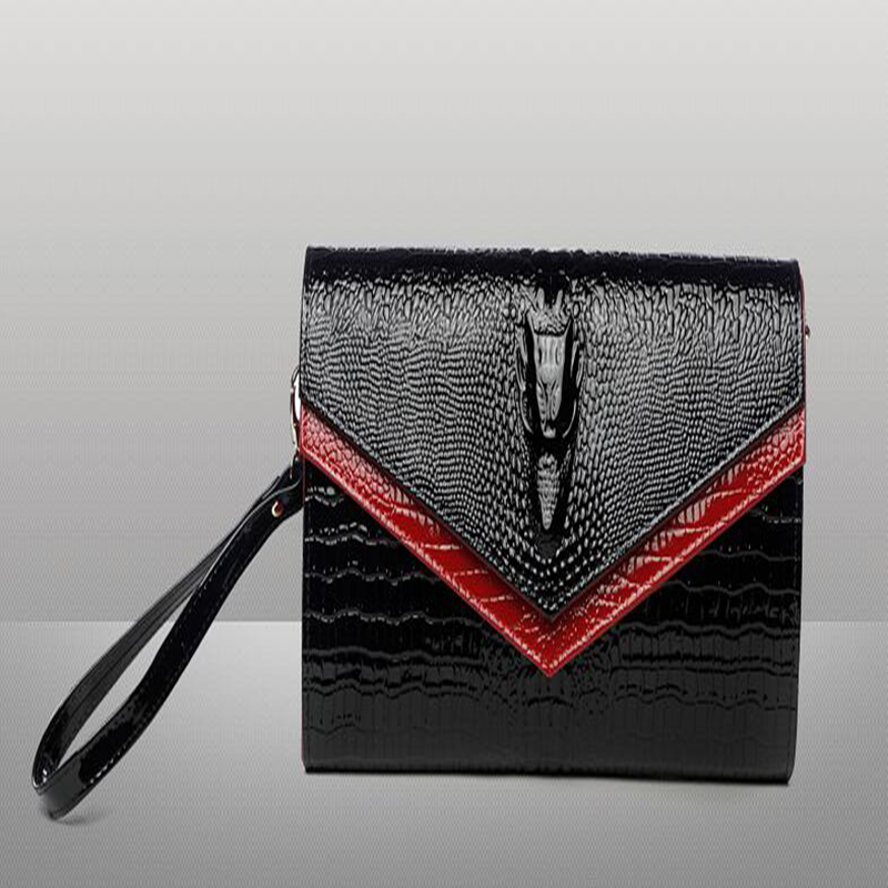 2018 New Women Banquet Long Clutch Bag Ladies Purse Chain Shoulder Bag Genuine Leather Wallet Evening Party Handbag Day Clutch women genuine leather envelope bag large capacity lady day clutch hand bag wristlet banquet chain messenger shoulder bag handbag