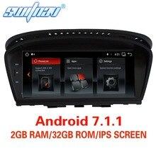 Android 7.1.1 для BMW 5 серии E60 E61 E63 E64 BMW 3 серии E90 E91 E92 dvd-плеер автомобиля аудио стерео gps стерео монитор экран