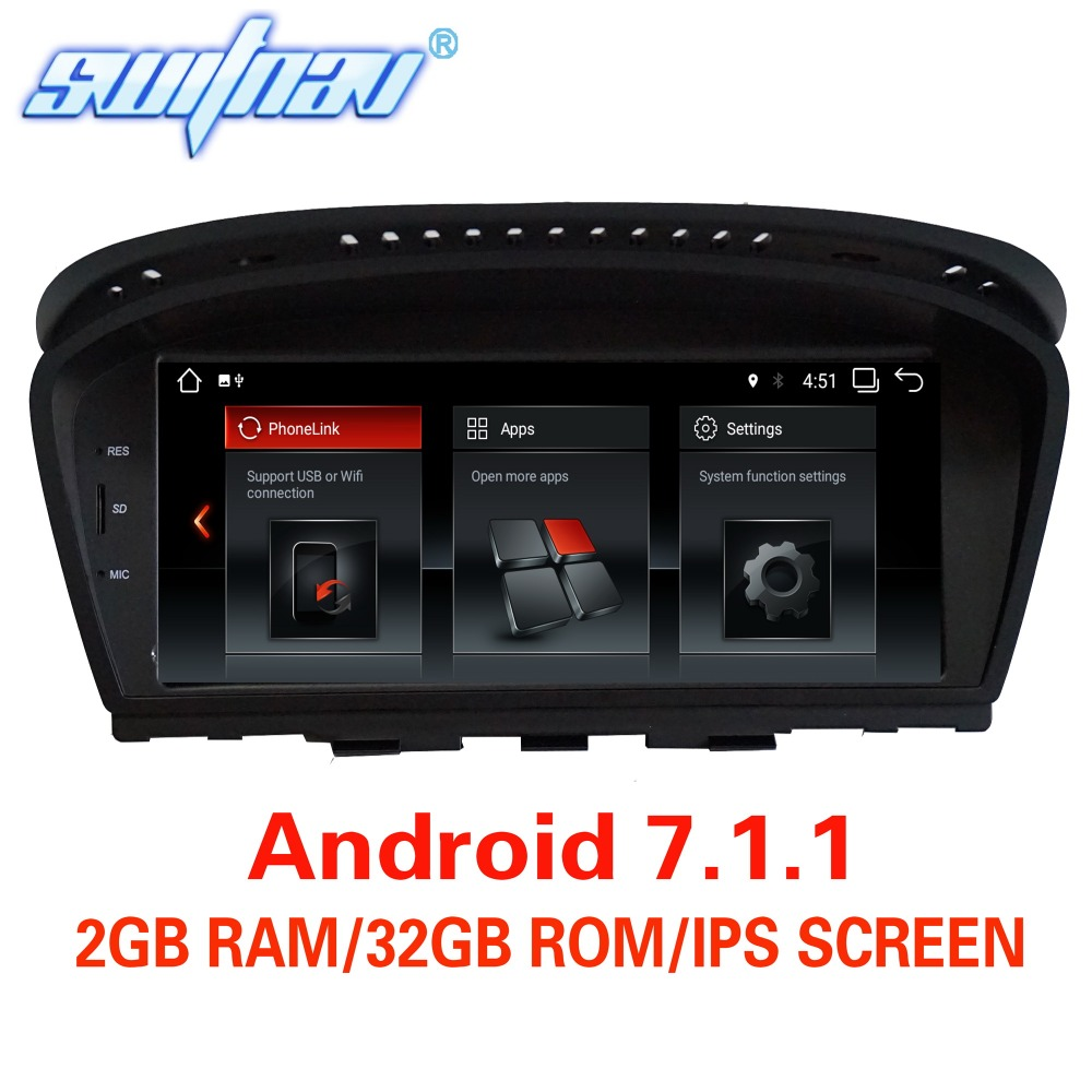 Android 7.1.1 FOR BMW 5 Series E60 E61 E63 E64 BMW 3 Series E90 E91 E92 CAR DVD player audio stereo GPS stereo monitor screen-in Car Multimedia Player from Automobiles & Motorcycles    1