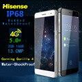 Ip67 a prueba de agua teléfono móvil 4g lte octa core hisense c20 3 GB RAM 32G smartphone de 5 pulgadas 13MP androide a prueba de choques del teléfono móvil 6 S