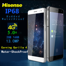 Waterproof CellPhone 4G lte IP67 Octa core thin Hisense C20 3GB RAM 32G smartphone 5inch 13MP shockproof android mobile phone 6S(China)