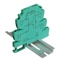 MRD 060D2 Innovative LED Indication 2A Input: 5V 12V 24V DC SSR Solid Sate Relay Interface DIN Rail Relay Module Switch Board